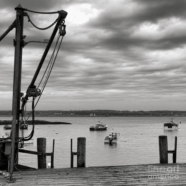 Photograph - Five Island Wharf  by Olivier Le Queinec
