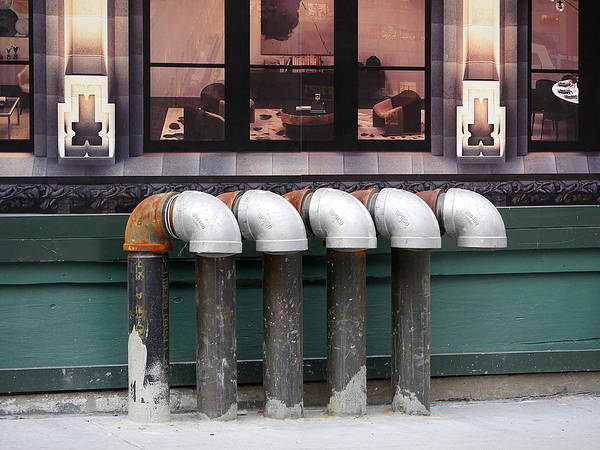 Photograph - Five Pipes by Richard Reeve