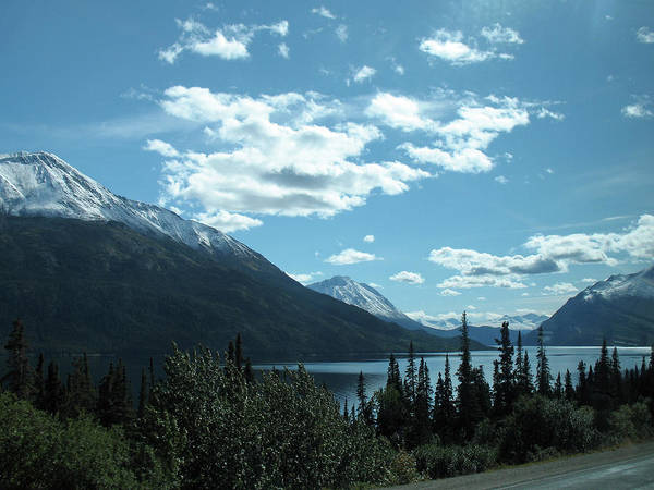 Photograph - Five Star Scenery In Yukon, Canada by Connie Fox