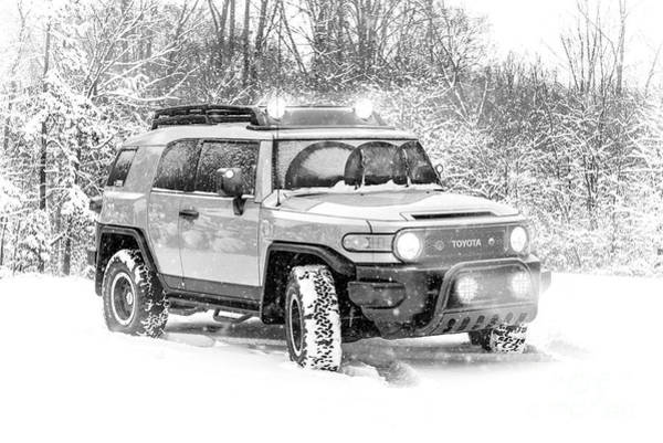 Wall Art - Photograph - Fj Cruiser Snowbound by Jt PhotoDesign