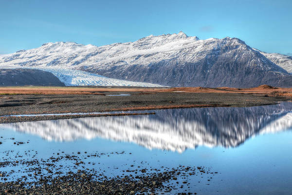 Fn Photograph - Flaajokull - Iceland by Joana Kruse