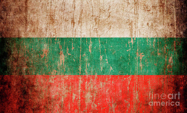 Wall Art - Photograph - Flag Of Bulgaria by Jelena Jovanovic