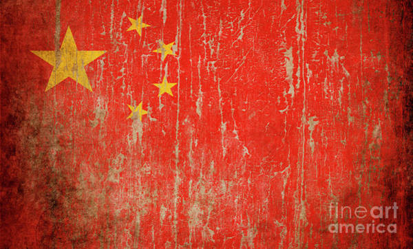 Wall Art - Photograph - Flag Of China by Jelena Jovanovic