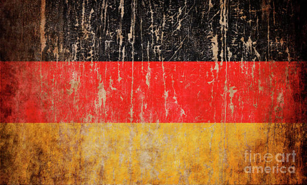 Wall Art - Photograph - Flag Of Germany by Jelena Jovanovic