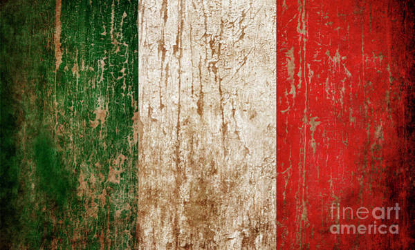 Wall Art - Photograph - Flag Of Italy by Jelena Jovanovic