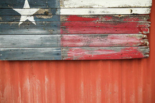 Photograph - Flag Of Texas by Thad