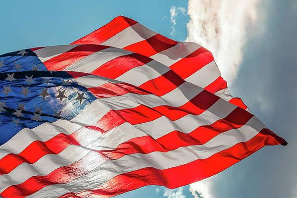 Wall Art - Photograph - Flag Shrouds by Todd Klassy