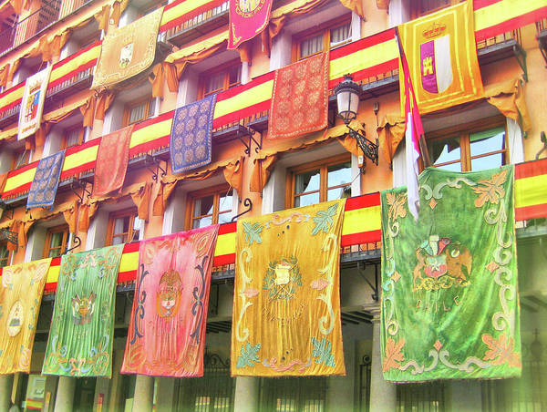 Photograph - Flags Of Spain by JAMART Photography