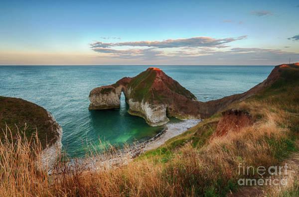 Photograph - Flamborough Head Dinosaur Cliff by Mariusz Talarek