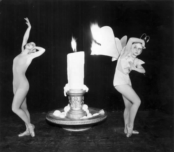 Scale Photograph - Flame Dance by Sasha