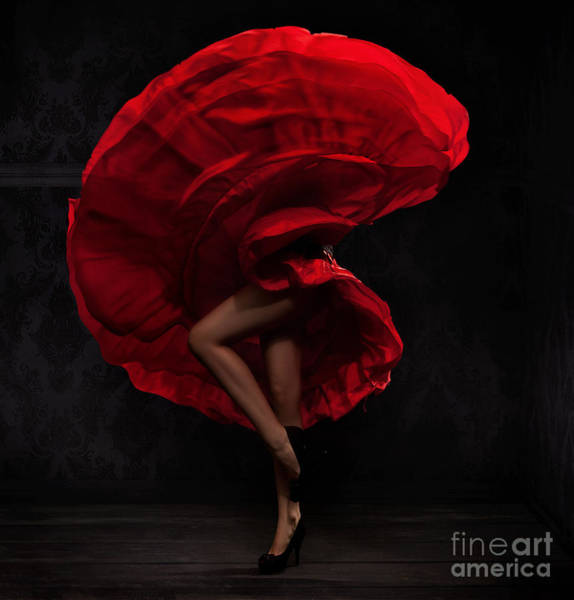 Wall Art - Photograph - Flamenco Dancer by Conrado