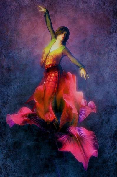 Wall Art - Painting - Flamenco Dancer Interior Art Painting by ArtMarketJapan
