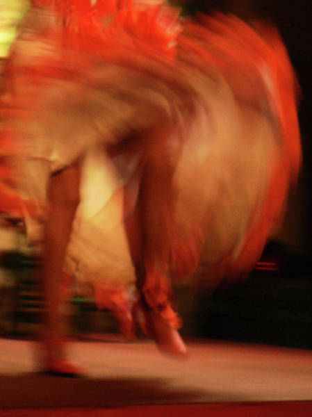 Photograph - Flamenco Dress by Photo, David Curtis