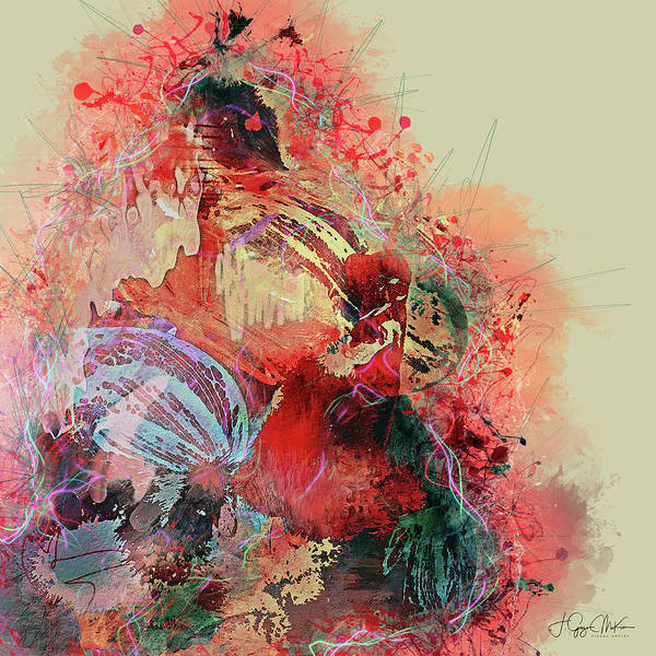 Digital Art - Flamenco Rhythms by Jo-Anne Gazo-McKim