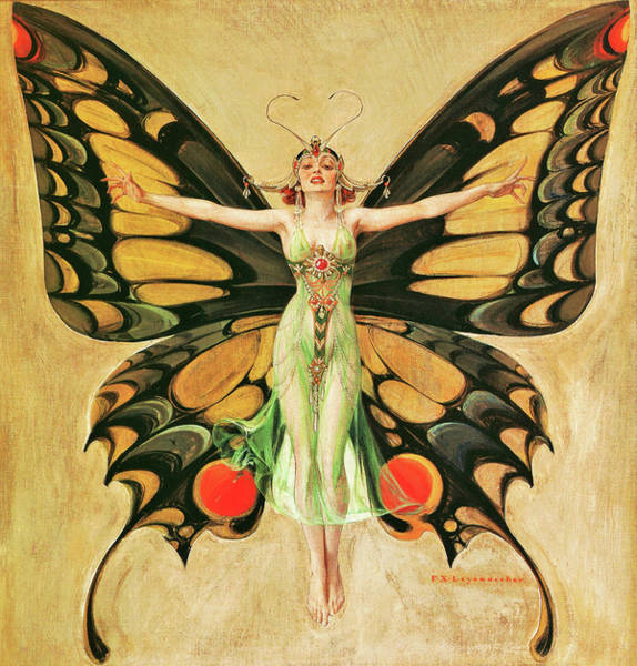 Wall Art - Painting - Flapper - Digital Remastered Edition by Joseph Christian Leyendecker
