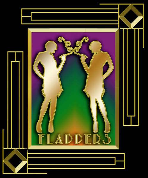 Digital Art - Flappers - Frame 5 by Chuck Staley