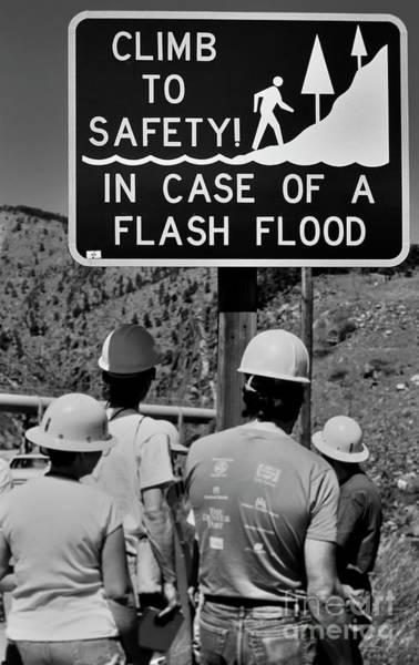 Photograph - Flash Flood Warning by Jon Burch Photography