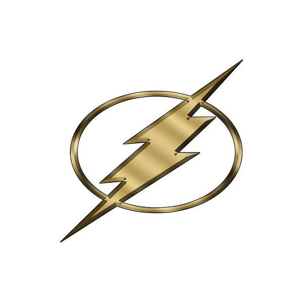 Digital Art - Flash Logo by Chuck Staley