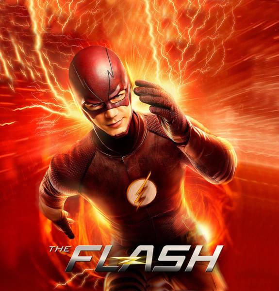 Robin Digital Art - Flash Serie by Geek N Rock