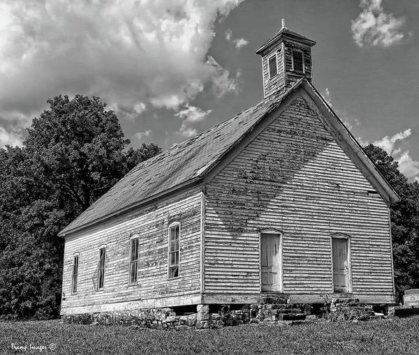 Photograph - Flat Rock Church by Wesley Nesbitt