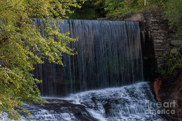 Photograph - Flat Rock Water Fall by Dale Powell