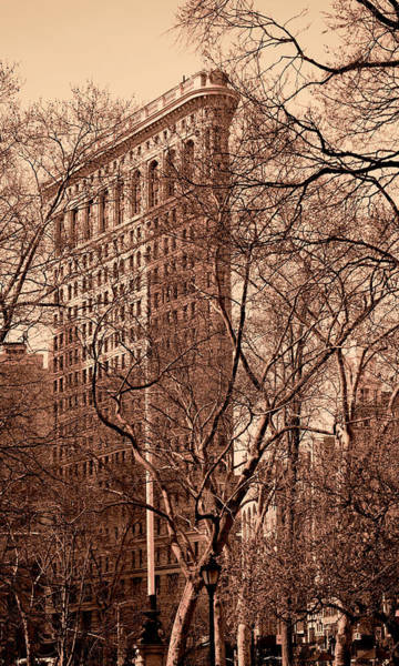 Photograph - Flatiron Building New York 8 by Andrew Fare
