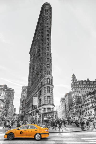 Wall Art - Photograph - Flatiron Building New York by David Pyatt