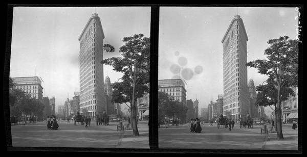 Flatirons Photograph - Flatiron Building by The New York Historical Society