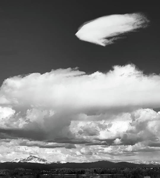 Photograph - Flatirons And Fun Cloud by Marilyn Hunt