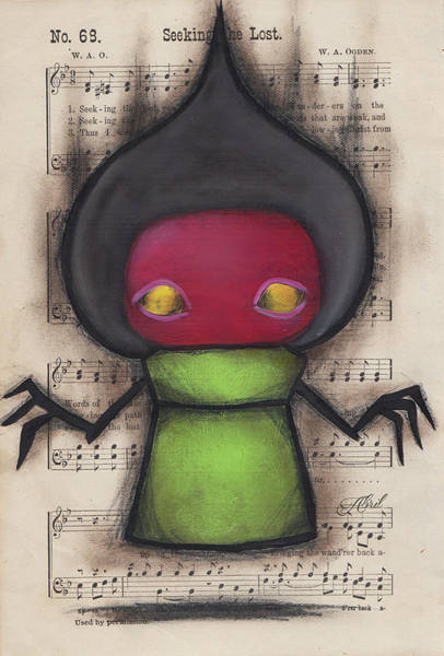 Flatwoods Monster Art Print