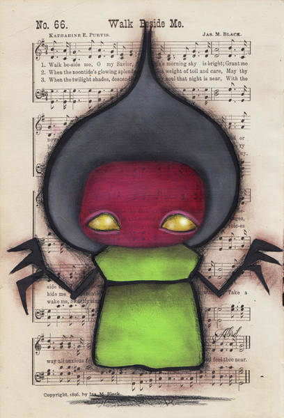 Flatwoods Monster Iv Art Print