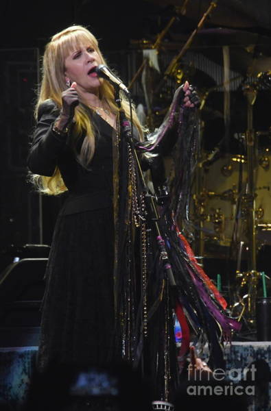Stevie Nicks Photograph - Fleetwood Mac - Stevie Nicks by Concert Photos