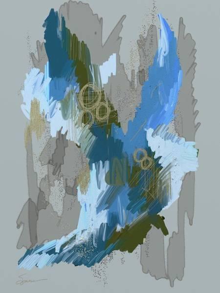 Sparrow Mixed Media - Flight by Mary Sparrow