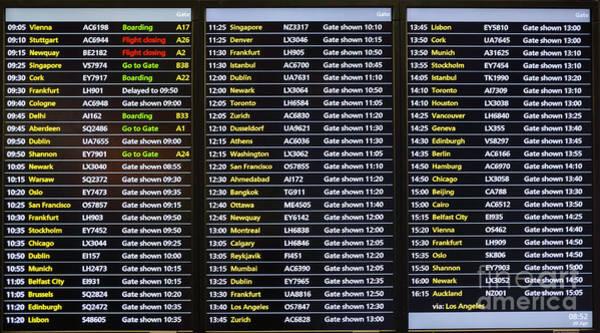 Photograph - Flight Schedule by Les Palenik