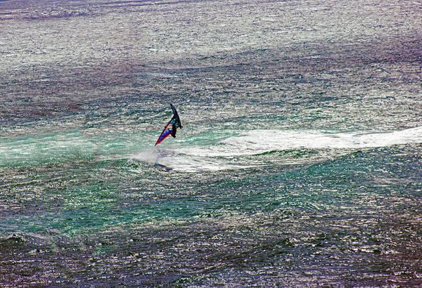 Photograph - Flipping Windsurfer by Anthony Jones