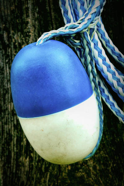 Photograph - Float On Braided Rope Up Close by Gary Slawsky