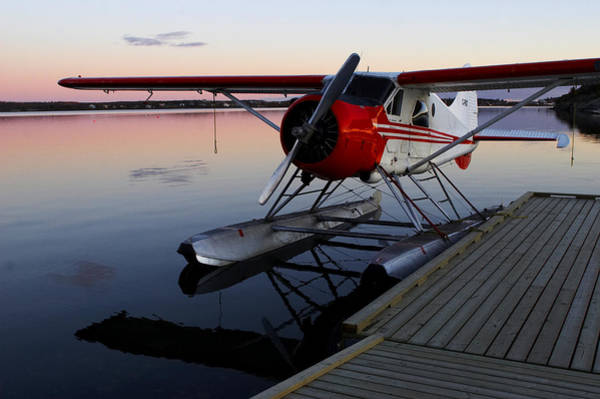 Yellowknife Wall Art - Photograph - Float Plane On Great Slave Lake by Dave Brosha Photography