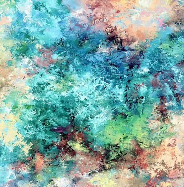 Wall Art - Digital Art - Floating  Flowers In Water by Grace Iradian