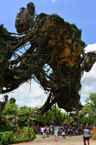 Wall Art - Photograph - Floating Mountains Of Pandora by David Lee Thompson