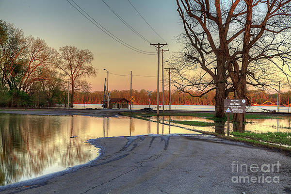 Wall Art - Photograph - Flooded Access  by Larry Braun