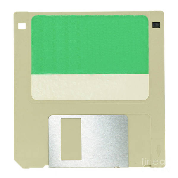 Floppy Disk Photograph - Floppy Disk by Bobby Griffiths