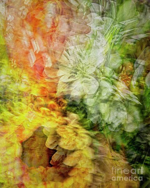 Digital Art - Flora Abstracta by Edmund Nagele