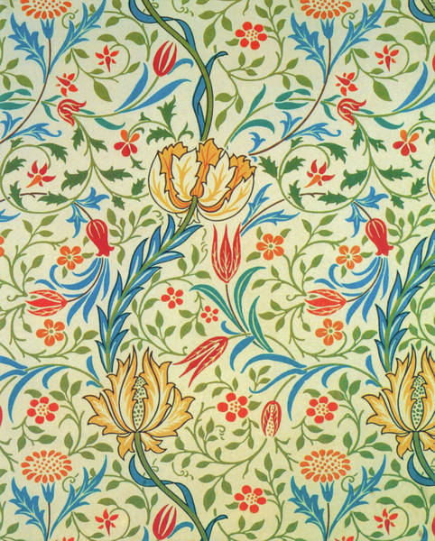 Wall Art - Painting - Flora - Digital Remastered Edition by William Morris