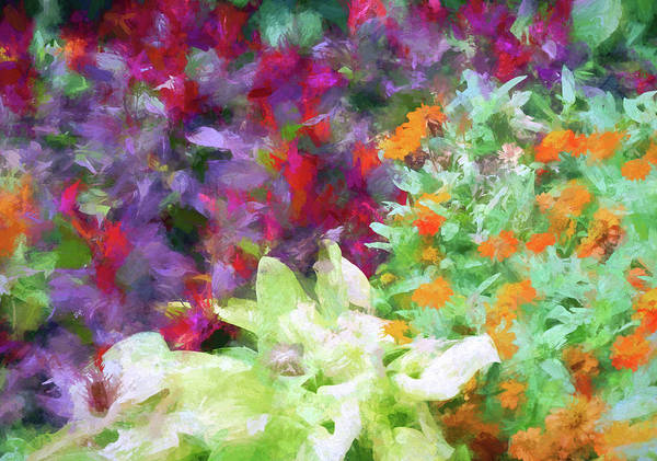Wall Art - Digital Art - Floral Art 30 by Tina Baxter
