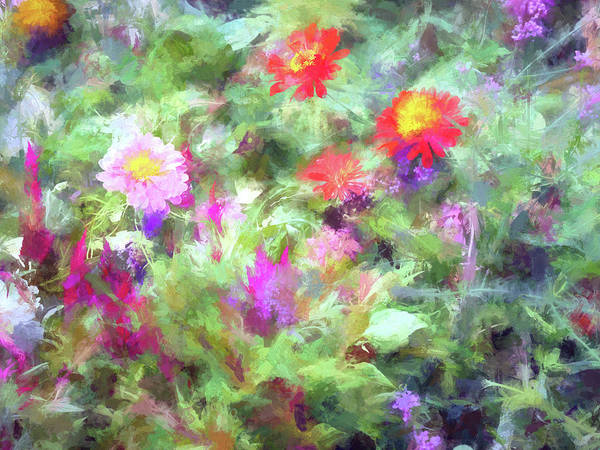 Wall Art - Digital Art - Floral Art 31 by Tina Baxter