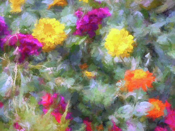 Wall Art - Digital Art - Floral Art 32 by Tina Baxter