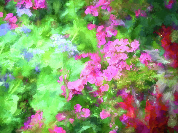 Wall Art - Digital Art - Floral Art 33 by Tina Baxter