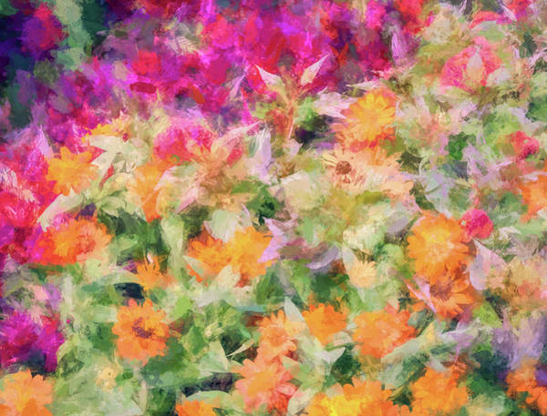 Wall Art - Digital Art - Floral Art 34 by Tina Baxter