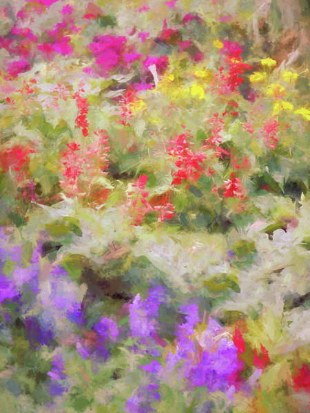 Wall Art - Digital Art - Floral Art 36 by Tina Baxter