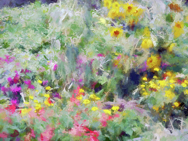 Wall Art - Digital Art - Floral Art 37 by Tina Baxter